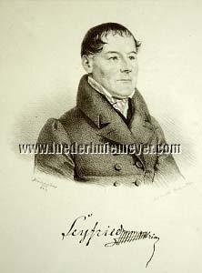 Josef Kriehuber, Ignaz Ritter von Seyfried