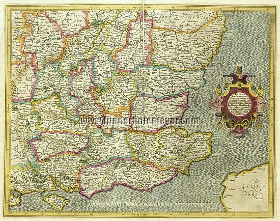 Mercator, Warwickshire/Northamptonshire