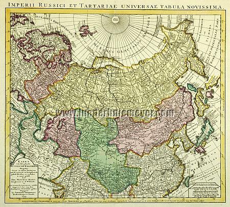 Haas, Imperii Russici et Tartariae