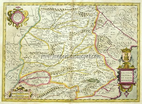 Gerard Mercator, Castile
