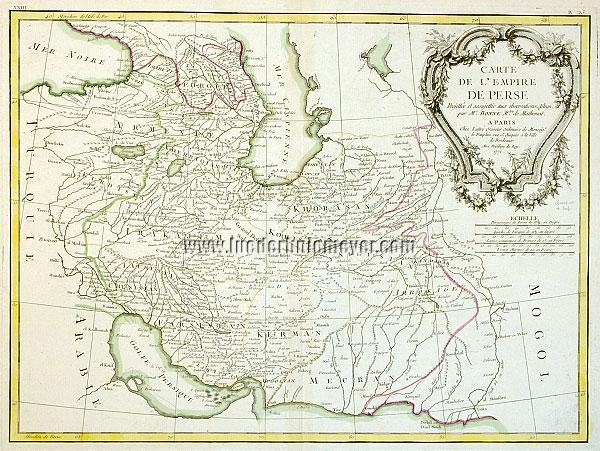 Persien Karte.Carte De L Empire De Perse Karte Des Persischen Reiches Lüder H