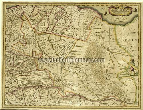Berckenrode/Hondius, Utrecht