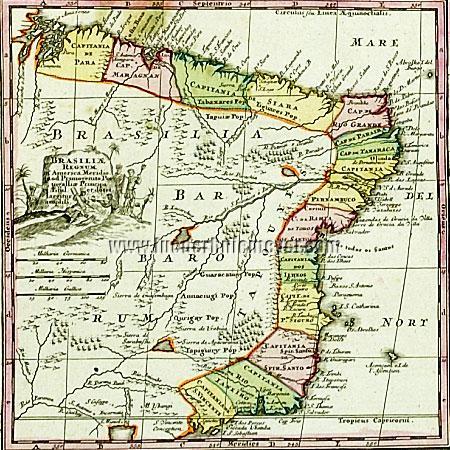 Brasilien (Detailkarte)