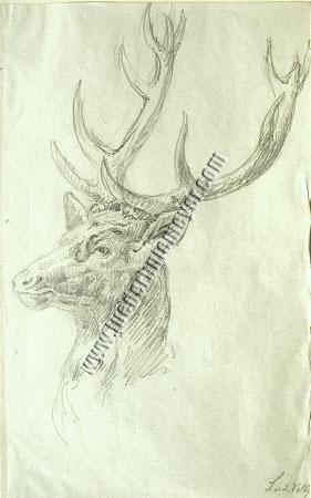 Роспись художника на рисунке