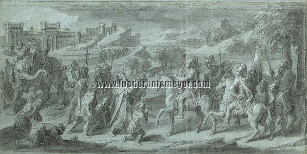 Verdier, Sophites begrüßt Alexander