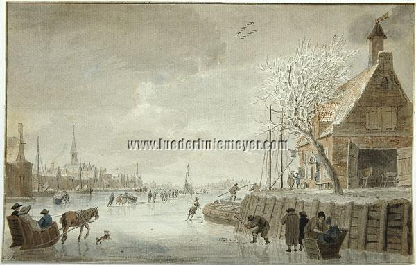 Cornelis van Noorde, Ice Amusement