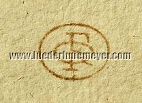 Hendrik Verschuring, Sammlermarke Quiring Lugt 1041b