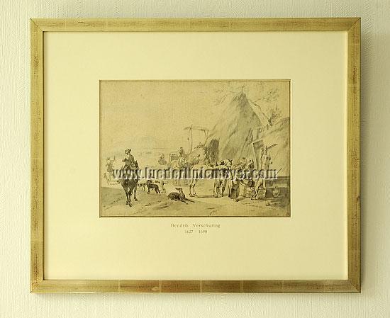 Hendrik Verschuring, Resting Hunters