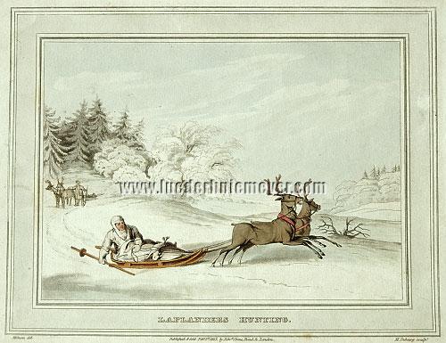John Augustus Atkinson, Laplanders Hunting