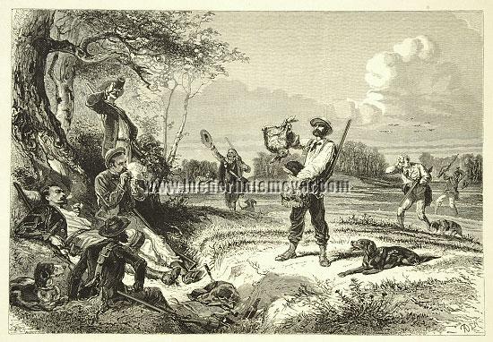 Alphonse de Neuville, Hunt Refreshment