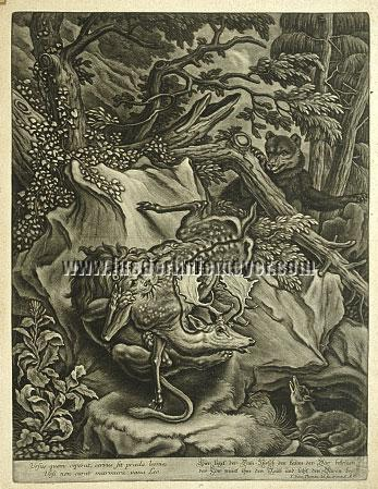 Thoman von Hagelstein, Lion, Bear, Deer