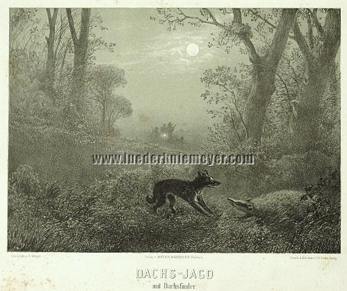 Eugen Krüger, Badger Hunting