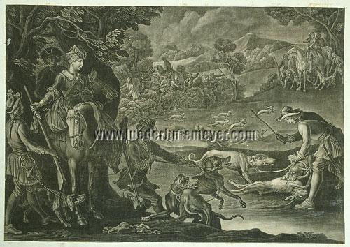 Ernst Philipp Thoman von Hagelstein, Hare Hunt