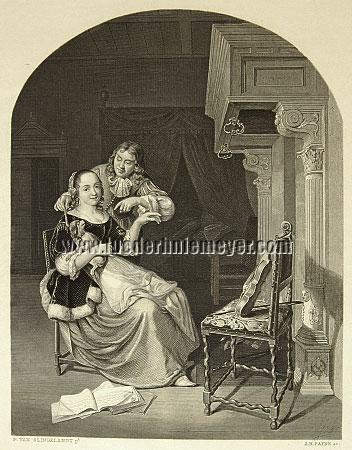 Pieter van Slingelandt, Musikprobe