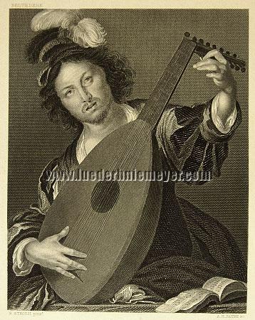 Bernardo Strozzi, Lautenspieler