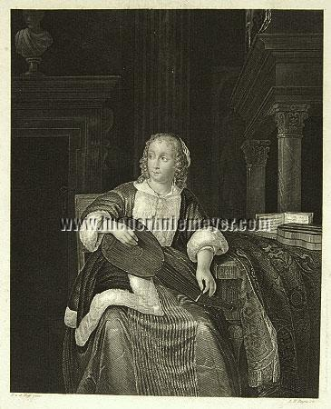 Eglon Hendrick van der Neer, Die Lautenspielerin
