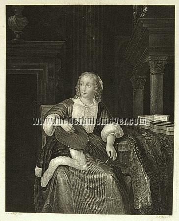 Eglon Hendrick van der Neer, The Lute Player