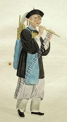 Pu-Quà Flötenhändler