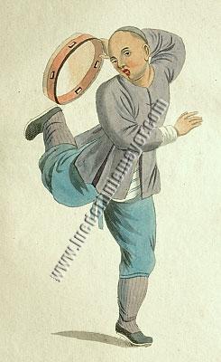 Pu-Quà Tambourinschläger