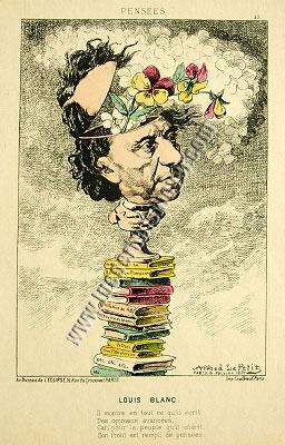 Alfred Le Petit, Louis Blanc