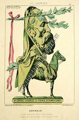 Alfred Le Petit, Garibaldi