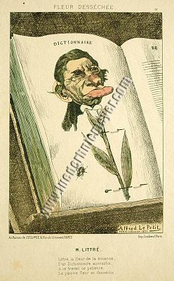 Alfred Le Petit, M. Littré