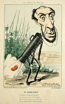 Alfred Le Petit, Victor Schœlcher
