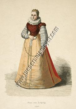 Woman from Leipsic. 1592