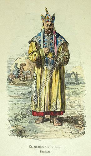 Kalmykian Priest, Russia