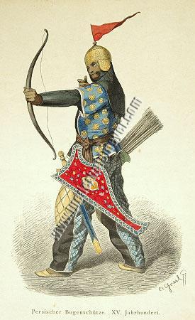 Persischer Bogenschütze