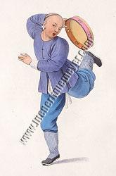 Pu-Quà, Tambourinspieler
