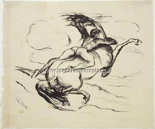 Arthur Grunenberg, Bolting Stallion