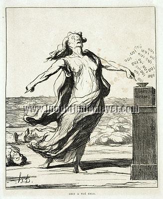 Honoré Daumier, Ceci a tué cela