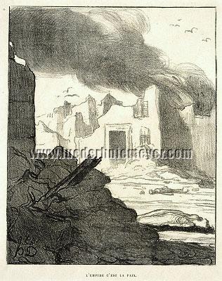 Honoré Daumier, L'Empire c'est la Paix