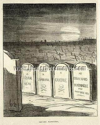 Honoré Daumier, Square Napoléon