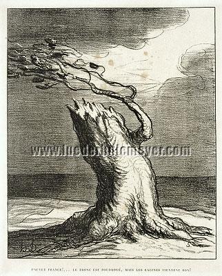 Honoré Daumier, Pauvre France!