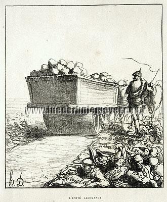 Honoré Daumier, L'Unité Allemande