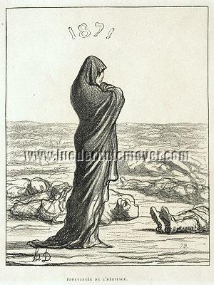 Honoré Daumier, Épouvantée de l'Héritage