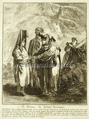 Jean Baptiste Le Prince, La diseuse de bonne Avanture
