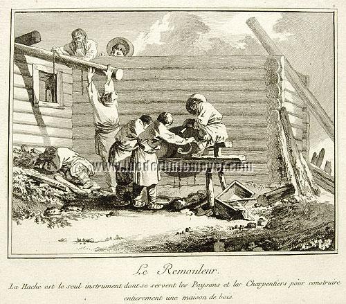 Jean Baptiste Le Prince, Remouleur