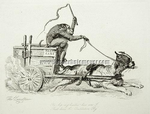 Thomas Landseer, Tax Cart