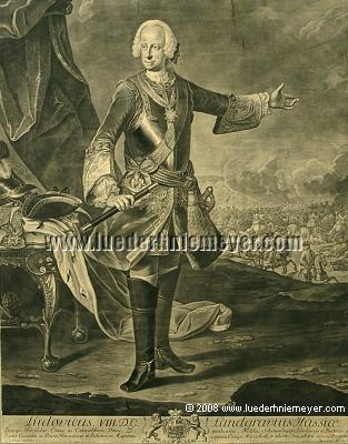 Johann Christian Fiedler, Louis VIII of Hesse-Darmstadt