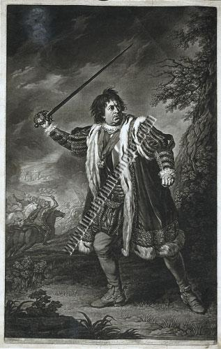Nathaniel Dance, Garrick in Richard III