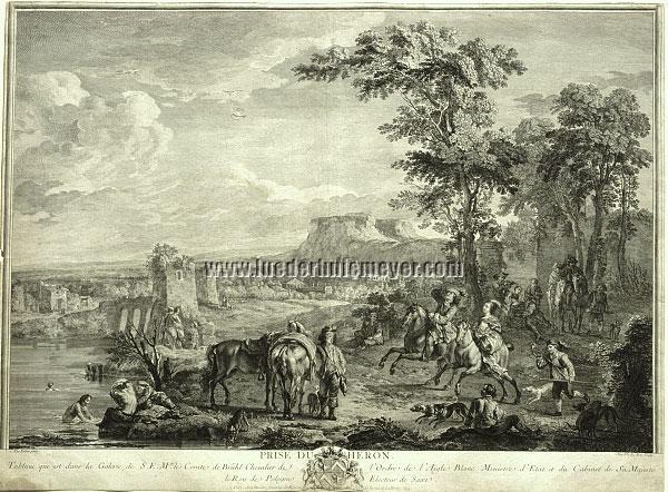 Carel van Falens, Prise du Héron