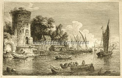 Franz Edmund Weirotter, Civita Vecchia