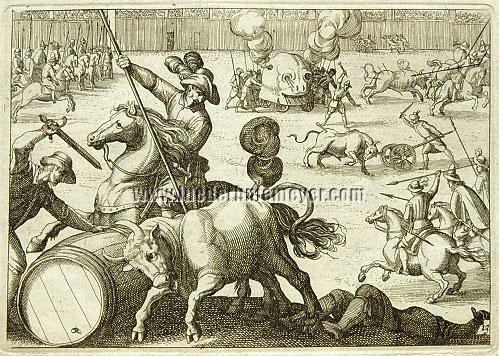 Antonio Tempesta, Fiestas de Toros