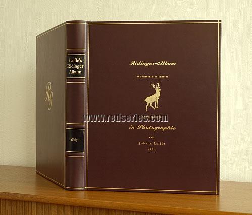 Johann Laifle, Ridinger Album