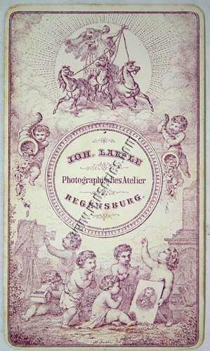 Johann Laifle, Carte de Visite