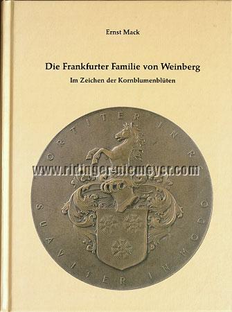 Mack, Die Frankfurter Familie von Weinberg