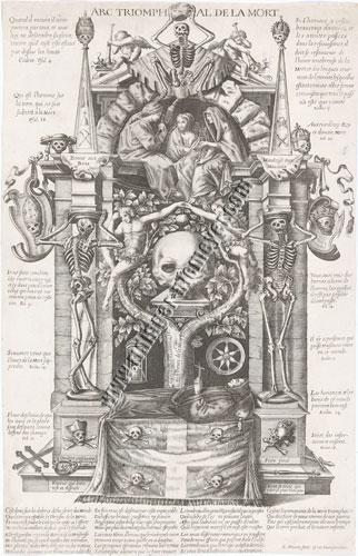 Edmé Moreau, Arc Triomphal de la Mort